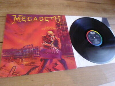 """Megadeth  """"oeace Sells...but Who´s Buying""""  Metal Vinyl Lp"""