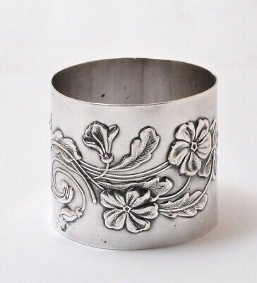 Vintage Silver Plated Napkin Ring...