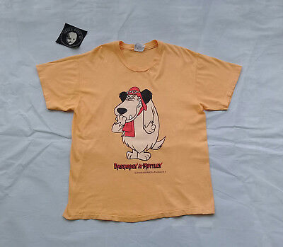 6012f36a51 VINTAGE 90S MUTTLEY Hanna Barbera Dick Dastardly T Shirt M L Cartoon ...