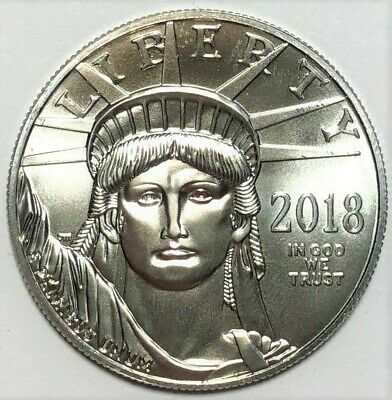 2018 American Eagle $100 Platinum Coin (1.000 APW) -KM# 286- 1c Start NO RESERVE