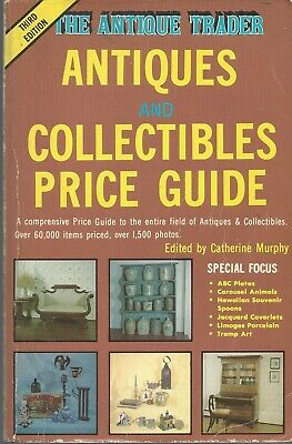 The Antique Trader Antiques and Collectibles Price Guide (1986, Paperback)