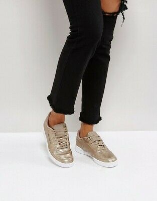 Reebok Classics Womens Club C 85 Leather Trainers Pearl WhiteWhiteIce