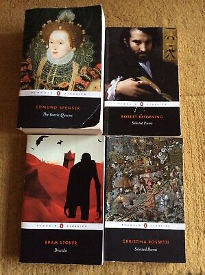 Penguin Classics Collection Literature Books And Selected Poems (x4) Bundle