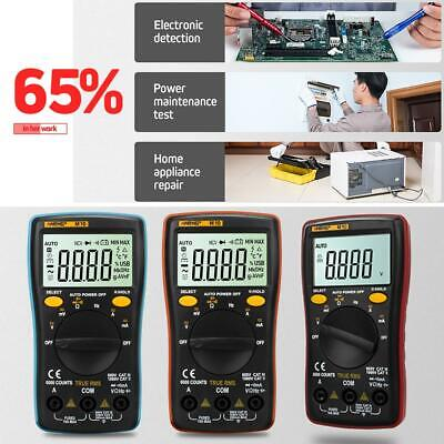 ANENG LCD Digital Automotive Multimeter AC/DC Voltage Temperature Meter Tester