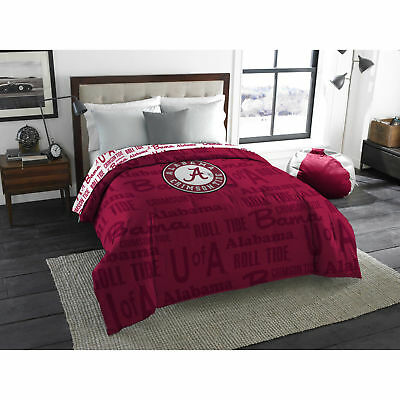 NCAA Alabama Crimson Tide Anthem Twin/Full Bedding Comforter. OPEN BOX!
