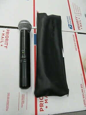 Shure SM58 SLX2 Wireless Microphone L4 638-662 mhz With Case