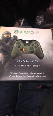 Official Microsoft Xbox One Halo 5 Guardians Master Chief Wireless Controller