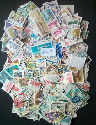 African Stamps Lot (A-2), (500+) Various African Countries.