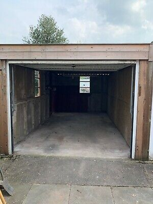Concrete Sectional Double Garage
