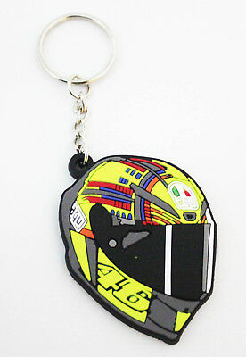 Valentino Rossi VR46 Helmet Keychain/Keyring #1 - UK Dispatch