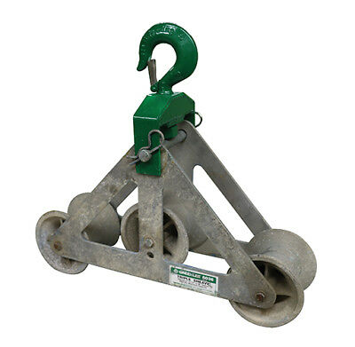 Greenlee 6,500 lb Triple Sheave Cable Guide