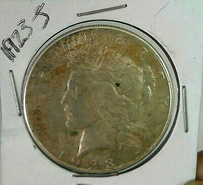 1923-S Peace Silver One Dollar ($1) US Coin