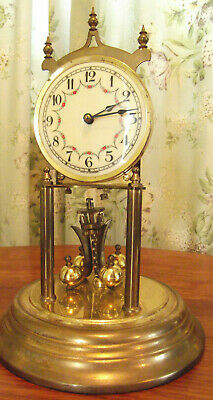 Kieninger & Obergfell  Anniversary / torsion  large clock . German