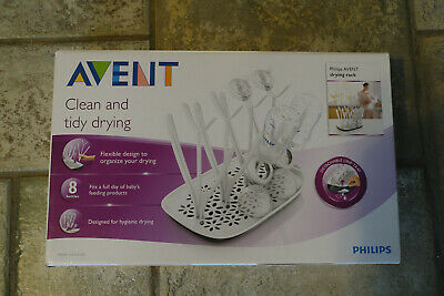 Avent - Clean & Tidy Drying Rack - Fits 8 Bottles