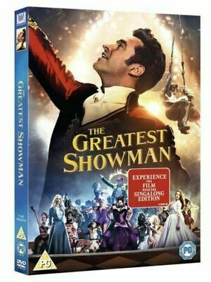 The Greatest Showman DVD with Sing Along New Sealed Region 2 UK Fast & Free Post