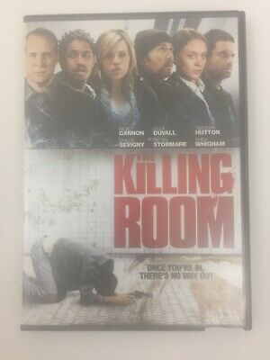 THE KILLING ROOM DVD Widescreen Edition NICK CANNON, CHLOE SEVIGNY