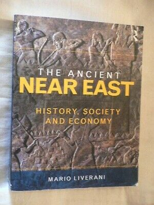 The Ancient Near East Mario Liverani 1st English Edition 2014 NOT ex-library