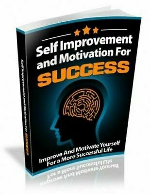 Self Improvement and Motivation for Success eBook pdf + Resale Rights