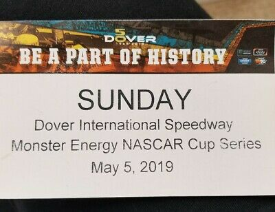 Nascar Ticket Dover International Speedway Monster Energy Cup Series May 5th