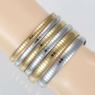Women's Stainless Steel Silver/Gold Fashion Snake Chain Charm Simple Bracelets