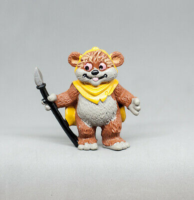1986 Star Wars vintage Droids Ewoks Comics Spain PVC figure - Wicket Ewok