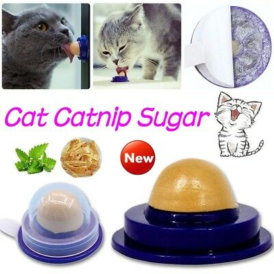 Healthy Cat Snacks Catnip Sugar Candy Licking Solid Nutrition Energy Ball Pet