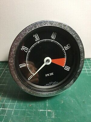 Smiths Ford Zephyr Zodiac Mk4 IV Tachometer / Rev Counter Converted To RVC