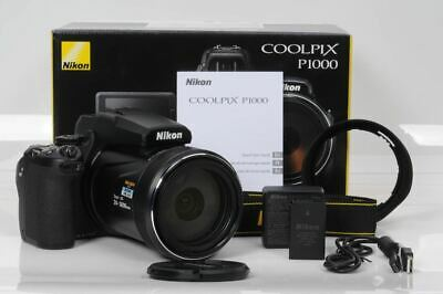 Nikon Coolpix P1000 16MP 4K Digital Camera with 125x Optical Zoom (Brand New)