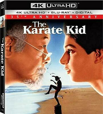 THE KARATE KID 35th ANNIVERSARY EDITION 2019 4K ULTRAHD BLURAY+DIG+SLIPCOVER NEW