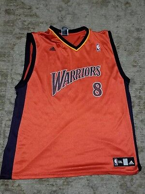 9ba35c4aa MONTA ELLIS Golden State Warriors Adidas Swingman Jersey Orange Mens Sz XXL