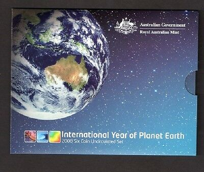Australian Mint International Year of Plant Earth 2008 Uncirculated Six Coin Set