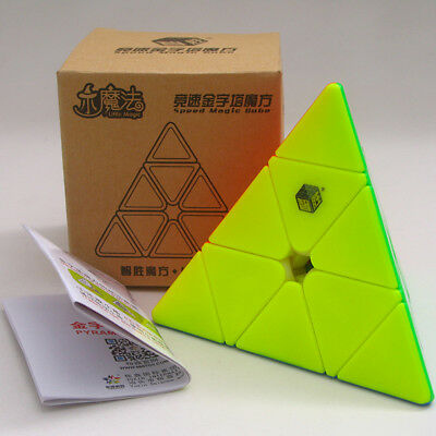 Yuxin Little magic 3x3x3 cube Pyramid cube Speed Twist Puzzle Toys Brain Teasers