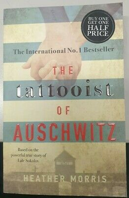 The Tattooist Of Auschwitz - Heather Morris Paperback pre owned