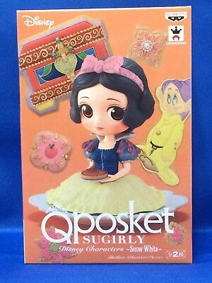 Q posket SUGIRLY Disney Characters -Snow White-Special Color Ver. Banpresto