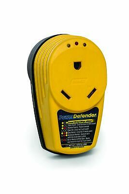Circuit Analyzer Safety Power Defender Surge Protector RV Adapter 30 Amp Yellow