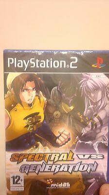 Playstation PS2 SPECTRAL VS GENERATION NUOVO NEW DISCOUNT -50%