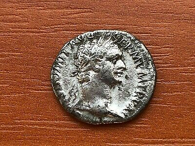 Roman Empire - Silver Coin of Domitian 81-96 AD AR Denarius Ancient Roman Coin