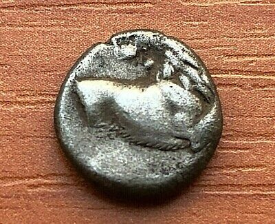 "Chersonese, Thrace 350 BC AR Hemidrachm ""Forepart of Lion"" Ancient Greek Coin"