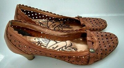 BULLBOXER summer shoes size 4.5 EU 37 100% leather --MINT-- perfect for Holidays