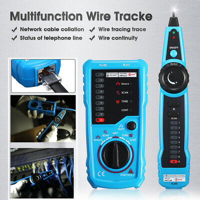 uk cable tester wire tracker network telephone line tracer toner lan phone  rj11