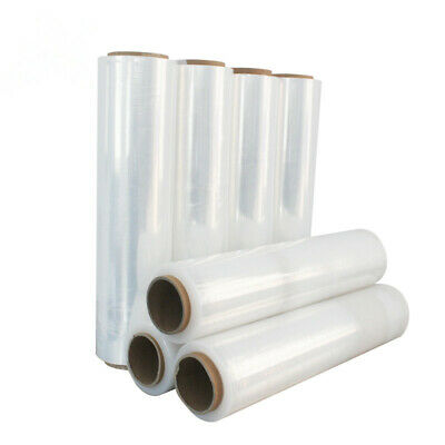 36 x White Quality Pallet Stretch Shrink Cast Cling Wrap Parcel Packing Film