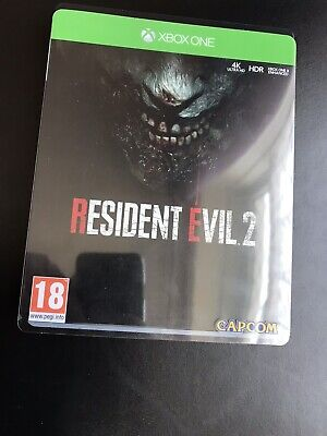 Resident Evil 2 Steel Book Edition Xbox One
