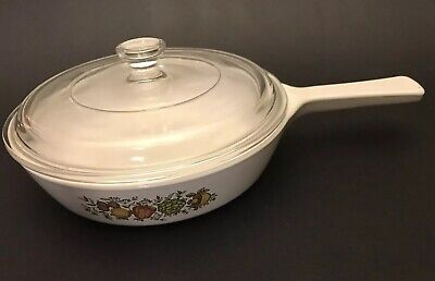 Corning Ware Spice Of Life Skillet With Lid P-83-B