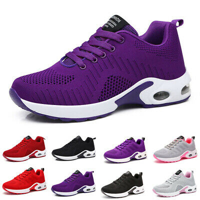 Athletic Sneakers Shoes Outdoor Mesh Trainers Tennis Gym Walking Ladies Casual