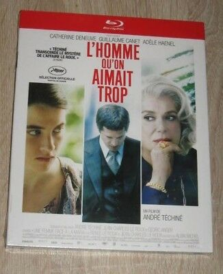 """New Film Blu-ray Disc """"L'HOMME QU'ON AIMAIT TROP"""" (Canet) [NEUF SOUS CELLO!!!]"""
