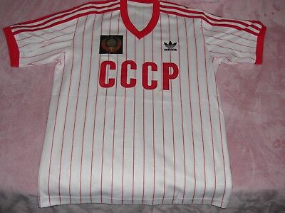 Adidas shirt CCCP Russia USSR world cup 1982 size S