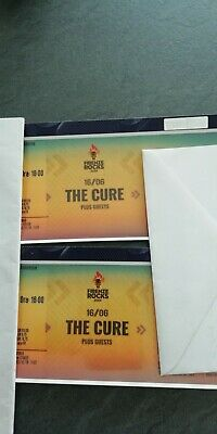 The Cure Ticket Concert Firenze Rock X 2 Pit