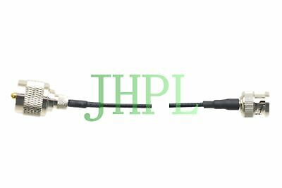Cable UHF to BNC Equivalent For Ultrasonic NDT TOFD GE transducer instrument