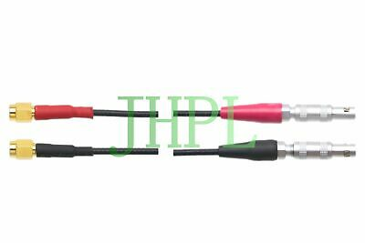 Cable Dual Lemo 00 to Microdot MD Equivalent For Ultrasonic NDT TR 6.5FT transdu