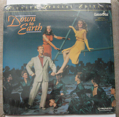 DOWN to EARTH LASERDISC Rita Hayworth, Larry Parks, Pioneer Special Edition
